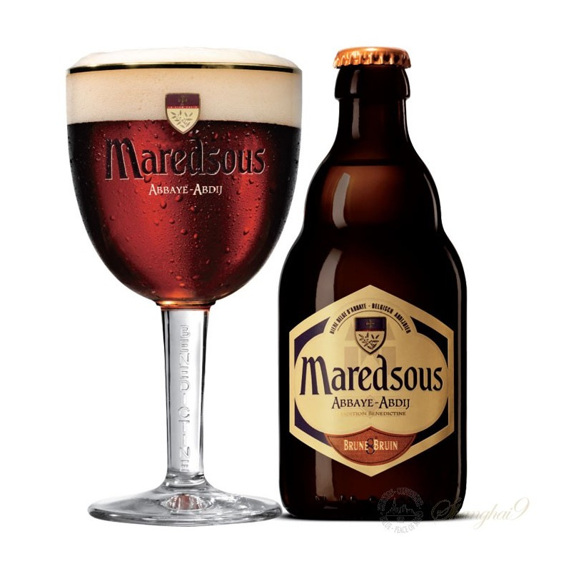 Maredsous Bruin 8° 0,33L belga sör