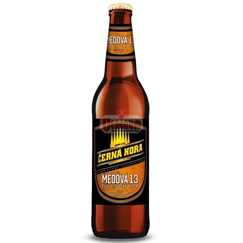 Cerna Hora Medova 13° 0,5l cseh sör