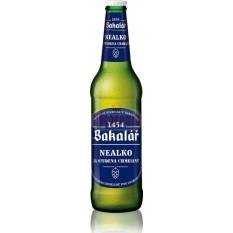 Bakalár Nealko 0,5l cseh alkoholmentes sör