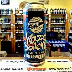 Permon Hazy Sabro 16° 0,5L Cseh kraft sör
