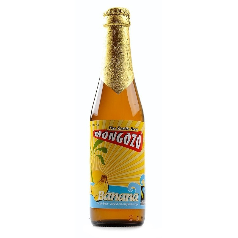 Mongozo Banana 0,33L belga sör