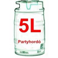 Partyhordó 5 L